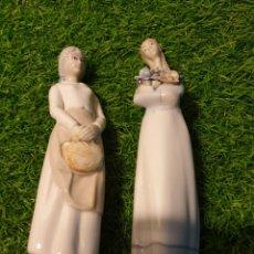 Antigüedades: FIGURAS PORCELANA. Lote 190017863
