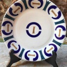 Antigüedades: PLATO DE PORCELANA SARGADELOS. Lote 190039100