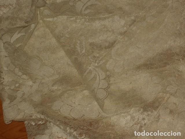 Antigüedades: MANTILLA,AÑOS 70-80. - Foto 9 - 190042760