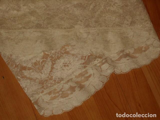 Antigüedades: MANTILLA,AÑOS 70-80. - Foto 11 - 190042760