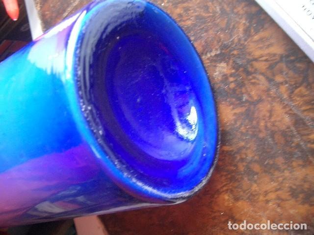 Antigüedades: Antigua botella cristal ( 35cm ) GUAYACOLSULFONATO POTÁSICO procedente de Alemania. años 20 - Foto 4 - 190054212