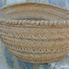 Antigüedades: CAPAZO DE ESPARTO . Lote 190082051