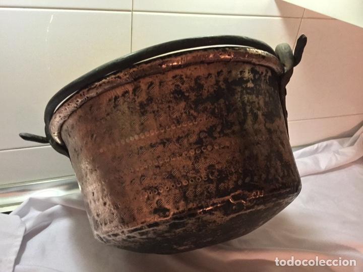 Antigüedades: Caldera cobre siglo XIX - Foto 4 - 190093910