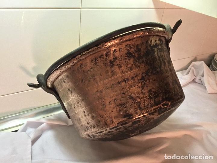 Antigüedades: Caldera cobre siglo XIX - Foto 5 - 190093910