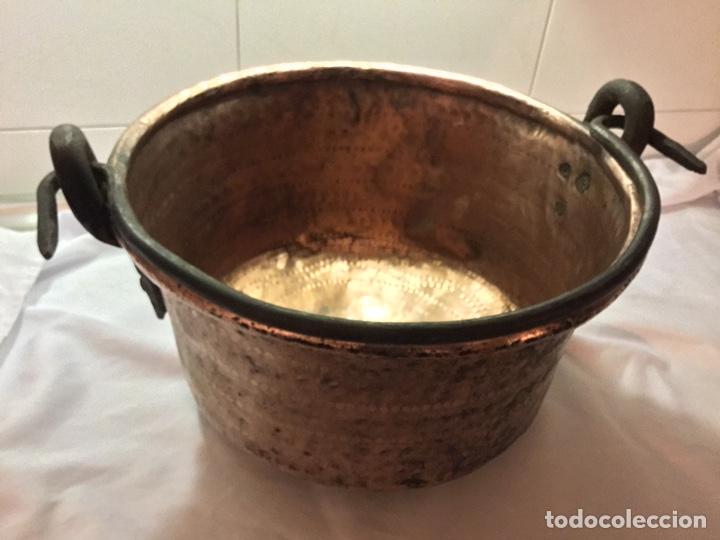 Antigüedades: Caldera cobre siglo XIX - Foto 7 - 190093910