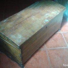 Antigüedades: BAÚL DE MADERA. Lote 190115403