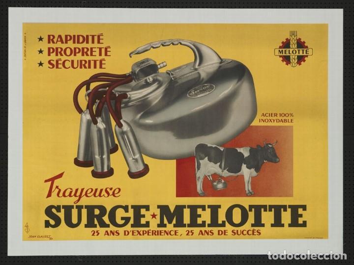 Antigüedades: ANTIGUO RECIPIENTE ORDEÑADORA MELOTTE. BÉLGICA - Foto 3 - 190115847