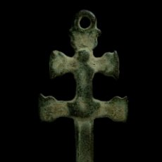 Antigüedades: CRUZ RELIGIOSA SIGLOS XVI-XVII, 34X15 MM.. Lote 190160512