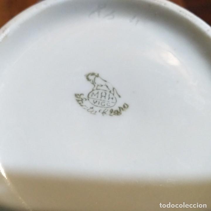 Antigüedades: Cafetera o tetera de porcelana. Santa Clara. Vigo - Foto 3 - 190168372