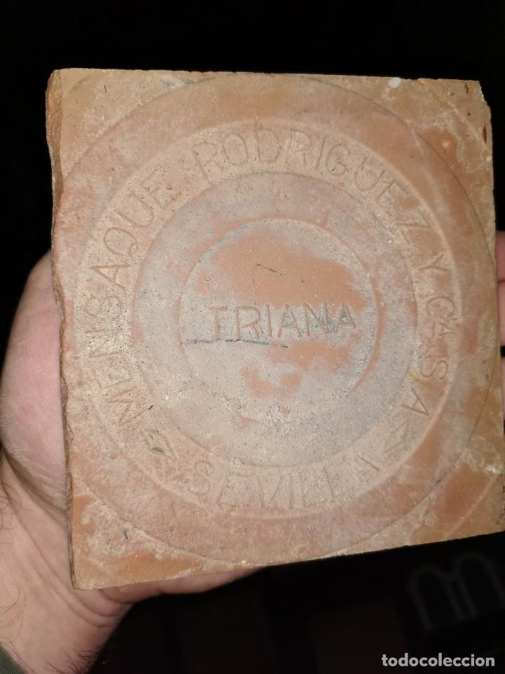Antigüedades: 21 azulejos de Mensaque Rodríguez. Triana. Años 20 - Foto 7 - 190184042
