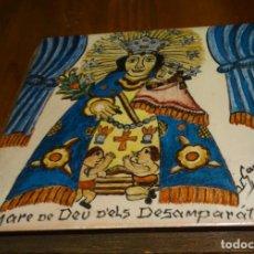 Antigüedades: CERÀMIC DE LA MARE DE DÉU DELS DESEMPARATS, CANBIA. CERÁMICA CATALANA, MOSÁICO. PINTADA A MANO. Lote 190206830
