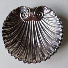 Antigüedades: CONCHA VIEIRA PLATA DE LEY CON CONTRASTES . Lote 190223951