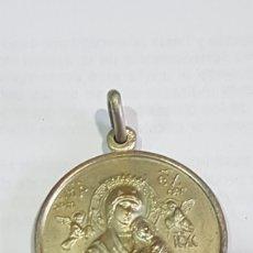 Antigüedades: MEDALLA RELIGIOSA EN PLATA. Lote 190239873
