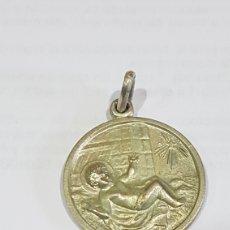 Antigüedades: MEDALLA RELIGIOSA EN PLATA. Lote 190240042