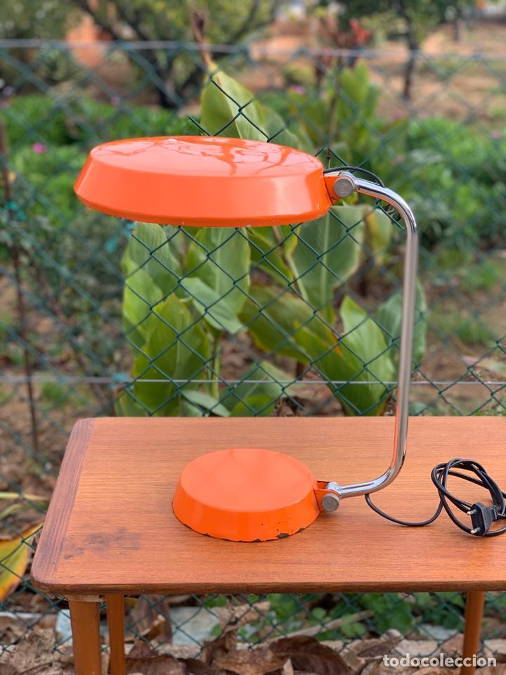 LÁMPARA VINTAGE FASE MAOF (Antigüedades - Iluminación - Lámparas Antiguas)