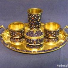 Antigüedades: BANDEJA DE SERVICIO DE FUMAR. Lote 190275397