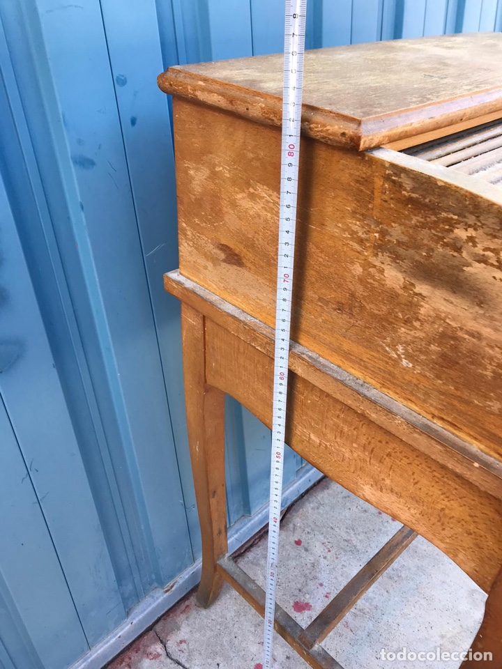 Antigüedades: Mueble bureou secreter - Foto 4 - 190297221
