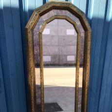 Antigüedades: ESPEJO ANTIGUO PAN DE ORO. Lote 190297505