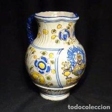 Antigüedades: ANTIGUA JARRA, TALAVERA VIRGEN DEL PRADO.NIVEIRO. Lote 190316728