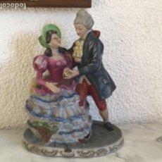 Antigüedades: FIGURA ROMANTICA DE PORCELANA,PERFECTA. VER FOTOS ANEXAS. . Lote 190318820