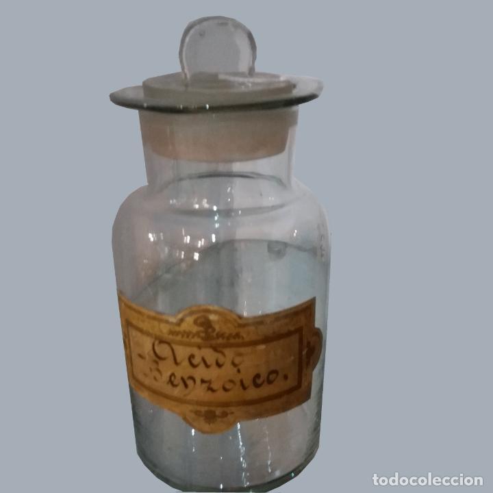 Antigüedades: FRASCO FARMACIA ANTIGUO - Foto 4 - 190340432