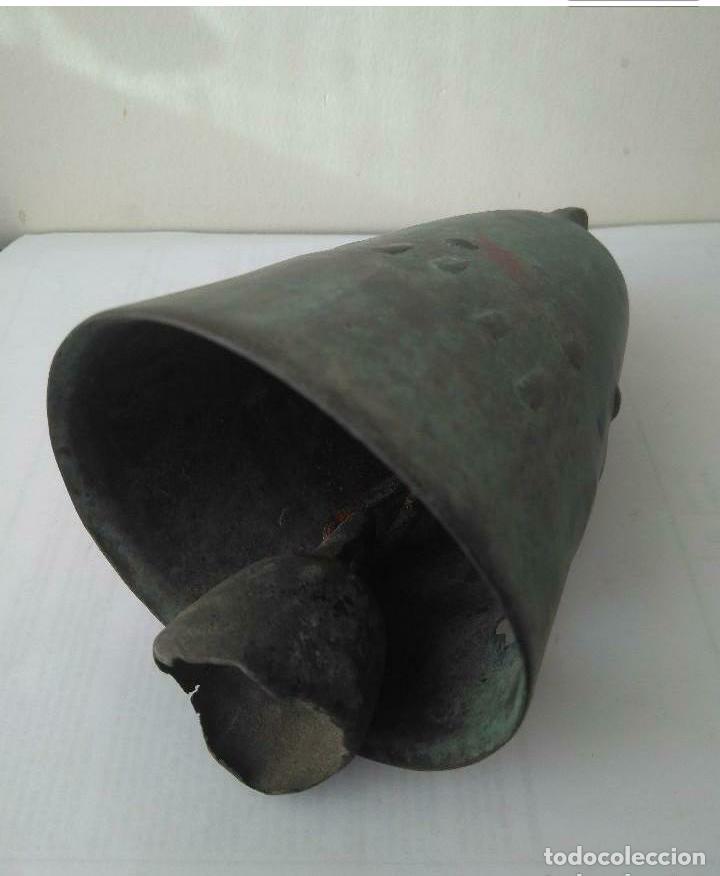 Antigüedades: MUY ANTIGUA CAMPANA LLAMADOR DE COBRE DEL IMPERIO OTOMANO MAS DE 200 años AUTÉNTICA - Foto 10 - 190342163