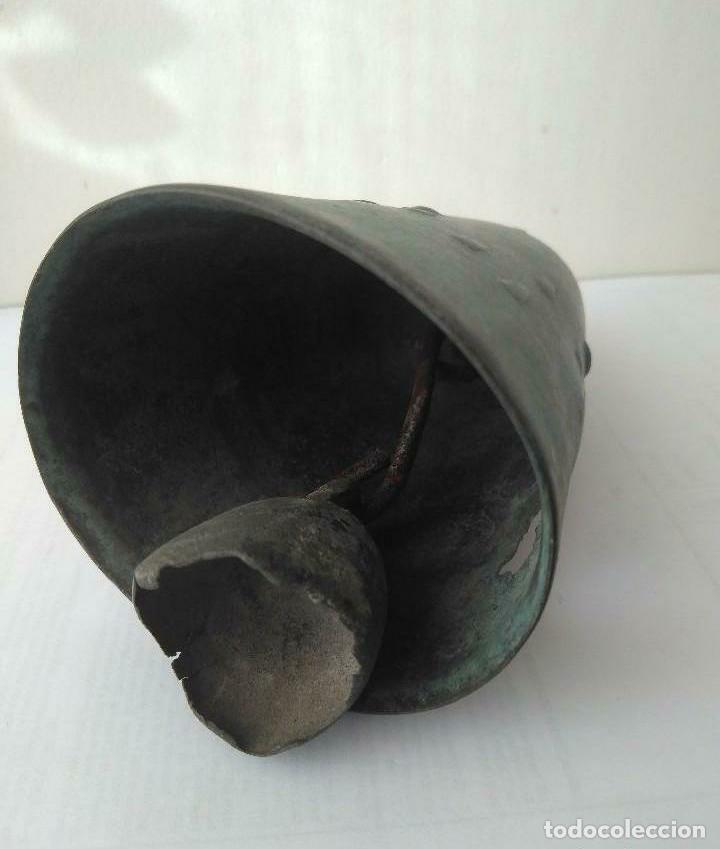 Antigüedades: MUY ANTIGUA CAMPANA LLAMADOR DE COBRE DEL IMPERIO OTOMANO MAS DE 200 años AUTÉNTICA - Foto 11 - 190342163