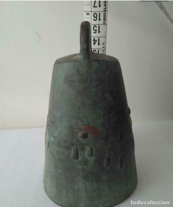 Antigüedades: MUY ANTIGUA CAMPANA LLAMADOR DE COBRE DEL IMPERIO OTOMANO MAS DE 200 años AUTÉNTICA - Foto 15 - 190342163