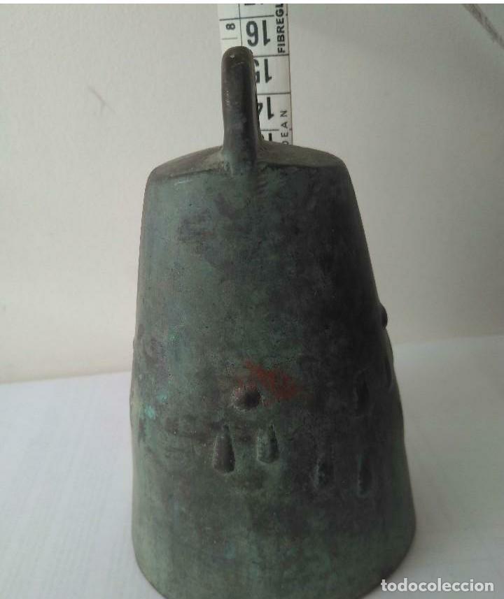 Antigüedades: MUY ANTIGUA CAMPANA LLAMADOR DE COBRE DEL IMPERIO OTOMANO MAS DE 200 años AUTÉNTICA - Foto 17 - 190342163