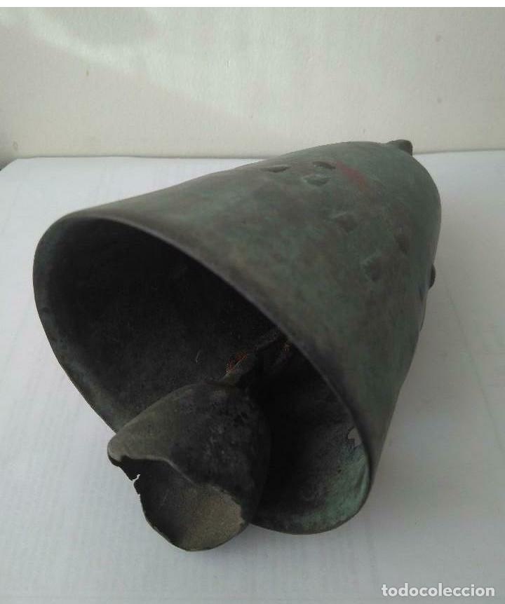 Antigüedades: MUY ANTIGUA CAMPANA LLAMADOR DE COBRE DEL IMPERIO OTOMANO MAS DE 200 años AUTÉNTICA - Foto 18 - 190342163