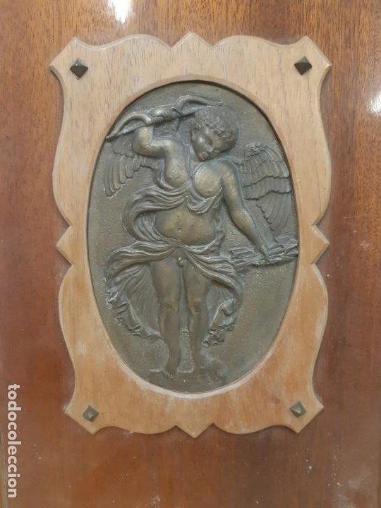 Antigüedades: OBRA EN METAL. ANGEL CON ARCO. OBRA DE FRANCESC GASSO. UNA OBRA DE ARTE EN TU CASA - Foto 2 - 190354740