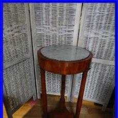Antiquités: MESA AUXILIAR DE NOGAL EPOCA RESTAURACION S. XIX. Lote 190367116