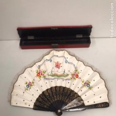 Antigüedades: ANTIGUA ABANICO CHINO SIGLO XIX. Lote 190369406