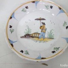 Antigüedades: PLATO DE CERÁMICA DE ALCORA. Lote 190371712