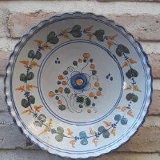 Antigüedades: PLATO ANTIGUO DE TALAVERA DE LA REINA ( TOLEDO ) FIRMADO: SASO.. Lote 190374405