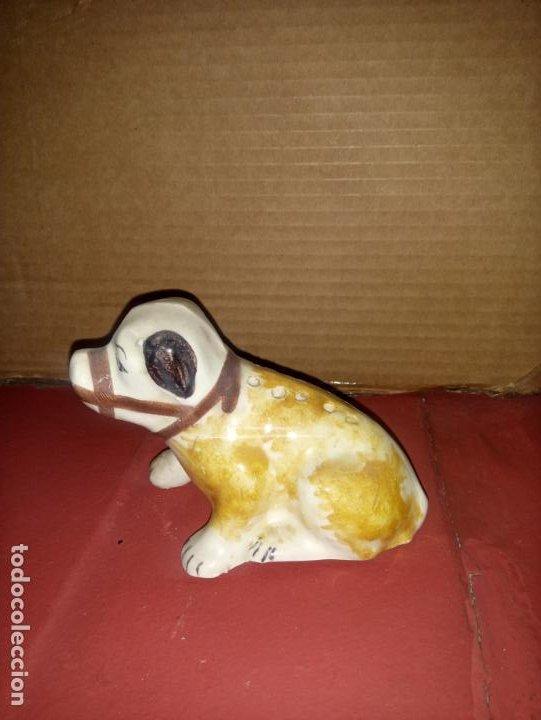ANTIGUO PALILLERO SARGADELOS PERRO (Antigüedades - Porcelanas y Cerámicas - Sargadelos)
