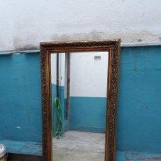 Antigüedades: ESPEJO VINTAGE MARCO DORADO. Lote 190399335