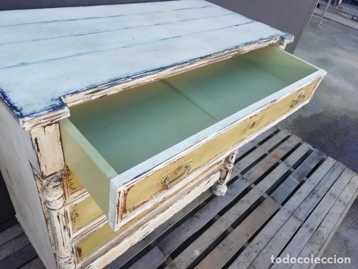 Antigüedades: Comoda cajonera Shabby - Foto 4 - 184640450