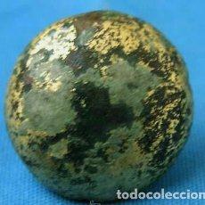 Antigüedades: APLIQUE DECORATIVO (TACHÓN) ROMANO / BRONCE SOBREDORADO. Lote 27637828