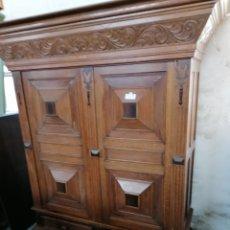 Antiquités: ARMARIO HOLANDÉS DE ROBLE. Lote 190444658
