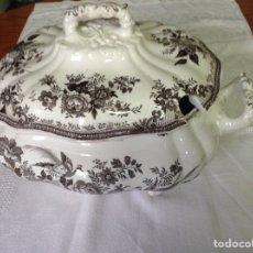 Antigüedades: GRAN SOPERA DE PORCELANA INGLESA CARDIFF. Lote 190447910