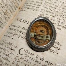 Antiquités: RELICARIO CON RELIQUIA DE SAN FERMÍN.. Lote 190467843