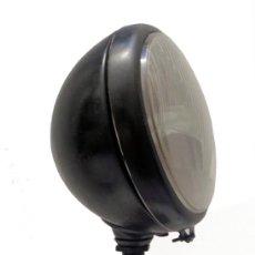 Antigüedades: LAMPARA MESA FABRICADA CON EL FOCO DE UN CAMION ANTIGUO ( ESTILO INDUSTRIAL ). Lote 190476437