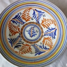 Antigüedades: PLATO CERÁMICA SERIE TRICOLOR CERALFAB TALAVERA. Lote 190484362