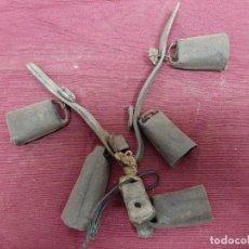 Antigüedades: LOTE 5 CENCERROS.... Lote 190487042