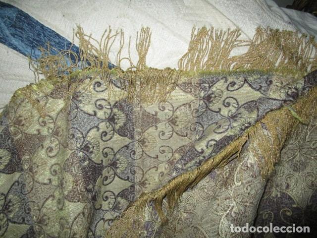 Antigüedades: ELEGANTE ANTIGUA COLCHA PARA CAMA DE 90 DORADA ADMITO OFERTAS !!!! - Foto 7 - 190504611