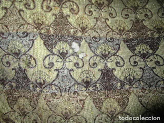 Antigüedades: ELEGANTE ANTIGUA COLCHA PARA CAMA DE 90 DORADA ADMITO OFERTAS !!!! - Foto 9 - 190504611