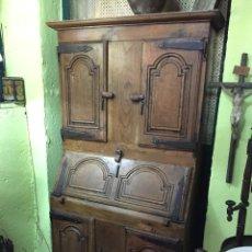 Antigüedades: MUEBLE CON SECRETER. Lote 190510317