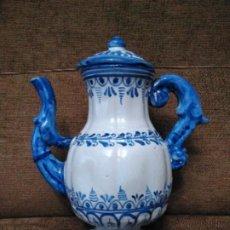 Antigüedades: ANTIGUA PIEZA CERAMICA DE TALAVERA. Lote 190523526
