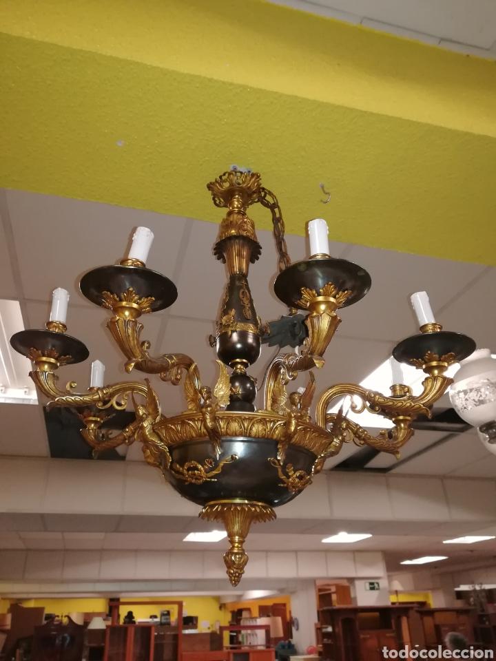 LAMPARA ARAÑA (Antigüedades - Varios)